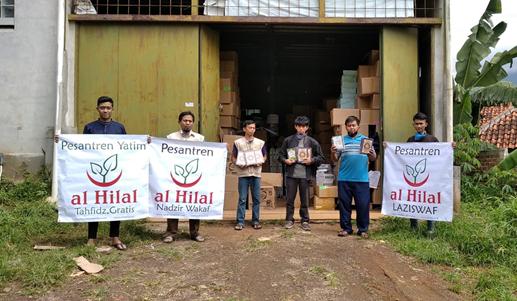 Wakaf Quran Untuk Korban Gempa Mamuju