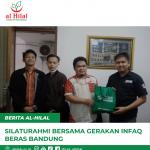 Silaturahmi Bersama Gerakan Infaq Beras Bandung