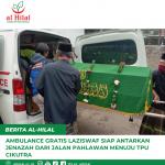 Ambulance Gratis LAZISWAF Siap Antarkan Jenazah Dari Jalan Pahlawan menuju TPU Cikutra
