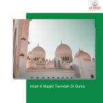 Inilah 6 Masjid Terindah Di Dunia