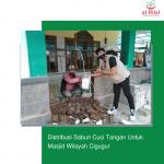 Distribusi Sabun Cuci Tangan Untuk Masjid Wilayah Cigugur