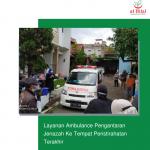 Layanan Ambulance Pengantaran Jenazah Ke Tempat Peristirahatan Terakhir