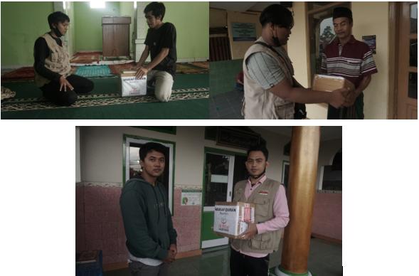 Penyaluran Wakaf Quran Wilayah Cimenyan 2