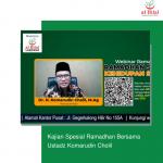 Kajian Spesial Ramadhan Bersama Ustadz Komarudin Cholil