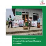 Penyaluran Wakaf Quran Dan Sweeping Al Quran Rusak Menjelang Ramadhan