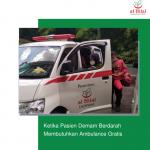 Ketika Pasien Demam Berdarah Membutuhkan Ambulance Gratis