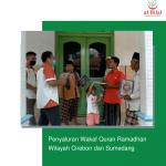 Penyaluran Wakaf Quran Ramadhan Wilayah Cirebon dan Sumedang