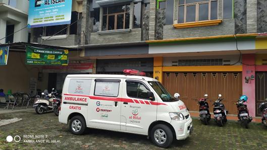 Pelayanan Pengantaran Pasien Kondisi Darurat Menuju Klinik Pratama Al Islam 1