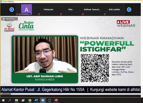 "Kajian ""Powerfull Istighfar"" Bersama Ustadz Arif Rahman Lubis 1"