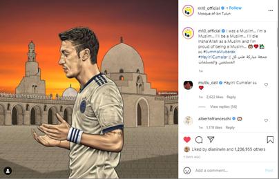 Ketika Mesut Ozil Menunjukkan Rasa Bangga Menjadi Seorang Muslim 2