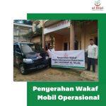 Penyerahan Mobil Bantuan Operasional Untuk Pesantren Al Hilal