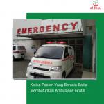 Ketika Pasien Yang Berusia Balita Membutuhkan Ambulance Gratis
