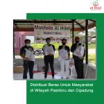 Distribusi Beras Untuk Masyarakat di Wilayah Pasirbiru dan Cipadung