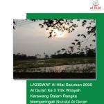 LAZISWAF Al Hilal Salurkan 2000 Al Quran Ke 3 Titik Wilayah Karawang Dalam Rangka Memperingati Nuzulul Al Quran