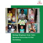 Berbagi Bingkisan Anak Yatim Bersama Komunitas Al Hilal Sumedang