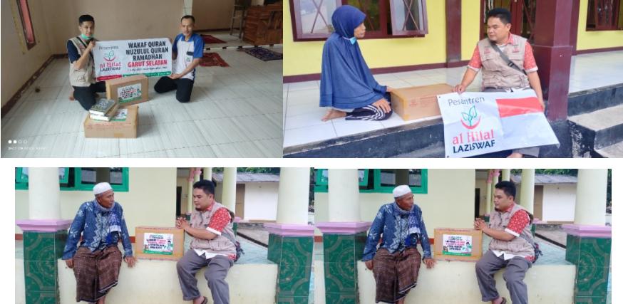 Berbagai Masjid Dan Mushola di Wilayah Pamempeuk Telah Menerima Mushaf Al Quran 3