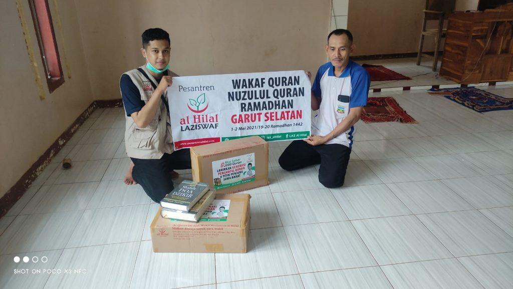 Berbagai Masjid Dan Mushola di Wilayah Pamempeuk Telah Menerima Mushaf Al Quran 1