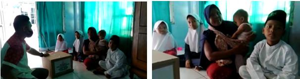 Laziswaf Al Hilal Membagikan Bingkisan Untuk Anak Yatim Santri Al Hilal, Cirebon 3