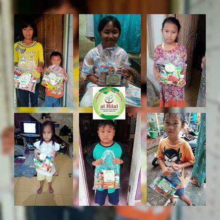 Berbagi Bingkisan Anak Yatim Bersama Komunitas Al Hilal Sumedang 1