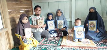 Wakaf Al Quran Telah Diterima Oleh Masyarakat di Pelosok Sukabumi 1