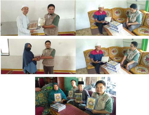 Wakaf Al Quran Telah Diterima Oleh Masyarakat di Pelosok Sukabumi 3