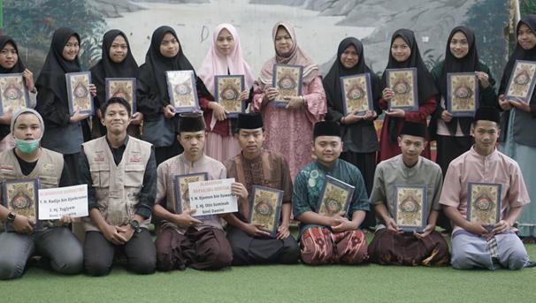 Penyaluran Wakaf Quran Telah Dijalankan Oleh LAZISWAF Al Hilal Selepas Idul Fitri 1