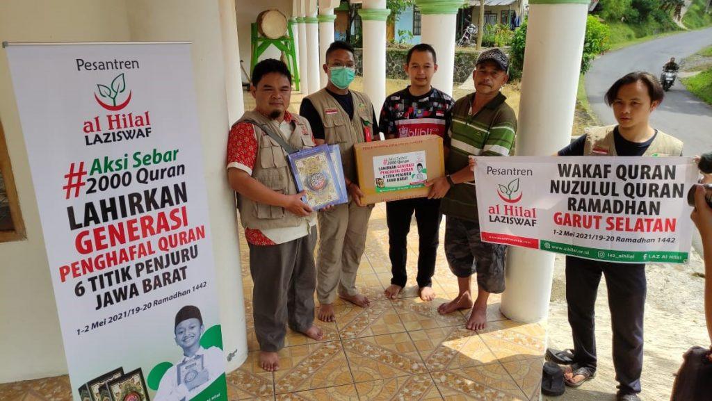 Cisompet Menjadi Tempat Pertama Penyaluran Wakaf Quran Wilayah Garut Selatan, Inilah Kondisinya 1