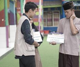 Penyaluran Wakaf Quran Telah Dijalankan Oleh LAZISWAF Al Hilal Selepas Idul Fitri 2