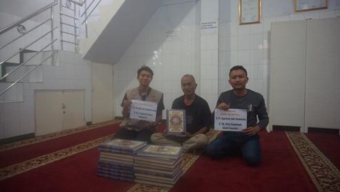 Penyaluran Wakaf Quran Wilayah Buah Batu Dari Salah Satu Donatur Al Hilal 1