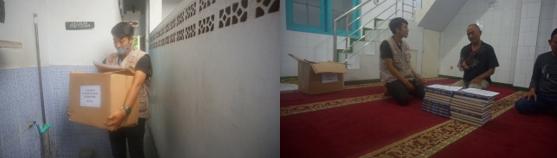 Penyaluran Wakaf Quran Wilayah Buah Batu Dari Salah Satu Donatur Al Hilal 3