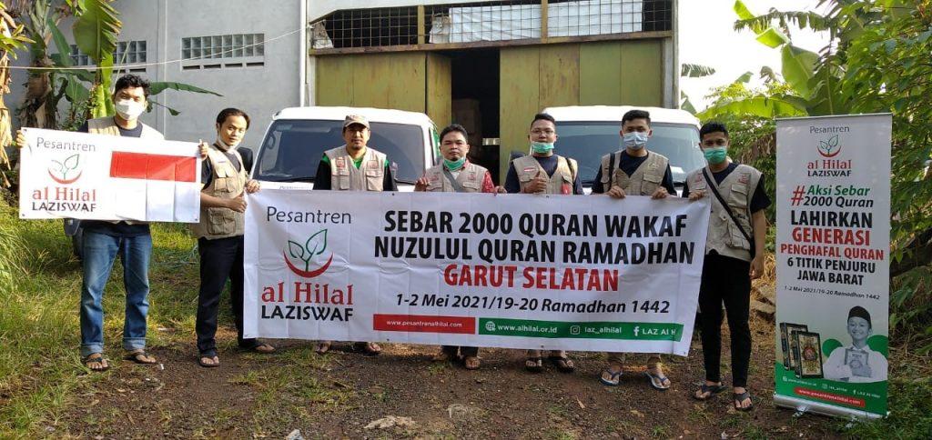 Penyaluran 2000 Wakaf Quran Peringatan Nuzulul Quran Siap Dilaksanakan 1