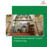 Keunikan Mimbar Salahudin Al Ayyubi di Masjid Al Aqsa