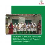 LAZISWAF Al Hilal Telah Menyalurkan 2100 Mushaf Quran Untuk Pesantren Darul Ikhlas, Sumatera