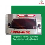 Pengantaran Pasien Gejala Bekas Operasi ke Rumah Sakit Gardujati