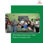 MasyaAllah, Wakaf Quran Telah Disalurkan Hingga Pelosok Cililin