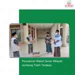 Penyaluran Wakaf Quran Wilayah Jombang Telah Terlaksa