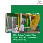 Al Hilal Berbagi: Pengiriman Madu, Herbal, Dan Masker Untuk Pesantren Al Kasyaf Bandung
