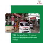 Tidak Mengenal Lelah, Ambulance Gratis Senantiasa Beroperasi Untuk Ummat