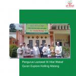 Pengurus Laziswaf Al Hilal Wakaf Quran Explore Keliling Malang