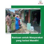 Penyalaluran Bantuan Kepada Masyarakat yang Sedang Isolasi Mandiri Bersama Komunitas Al Hilal Sumedang