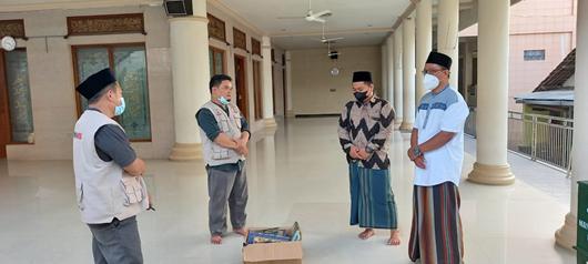 Penyaluran Wakaf Quran Wilayah Jombang Telah Terlaksa 1