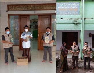 Penyaluran Wakaf Quran Wilayah Jombang Telah Terlaksa 3