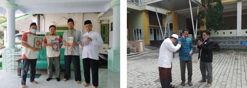 Pengurus Laziswaf Al Hilal Wakaf Quran Explore Keliling Malang 2