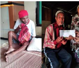 Penyaluran Wakaf Quran Untuk Pesantren dan Masjid serta Donasi Masyarakat Jompo Desa Tugumukti 2