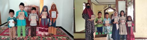 Penyaluran Wakaf Quran Untuk Pesantren dan Masjid serta Donasi Masyarakat Jompo Desa Tugumukti 3