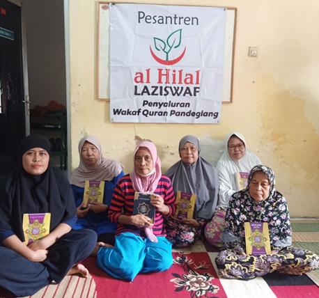 Bersama Griya Berbagi, LAZISWAF Al Hilal Telah Menyalurkan Wakaf Quran Untuk Pesisir Banten 1