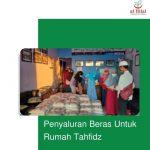 Penyaluran Beras Untuk Rumah Tahfidz Cibiru dan Pasirbiru