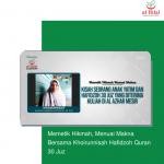 Memetik Hikmah, Menuai Makna Bersama Khoirunnisah Hafidzoh Quran 30 Juz