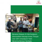 "Bersama Relawan Al Hilal Sukabumi, Alhamdulillah Keluarga Anwar ""Penjual Cilor Cilik"" di Sukabumi Telah Menerima Bantuan Sembako"