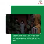 Alhamdulillah Jihan Dan Jiddan Telah Menerima Bantuan Dari LAZISWAF Al Hilal